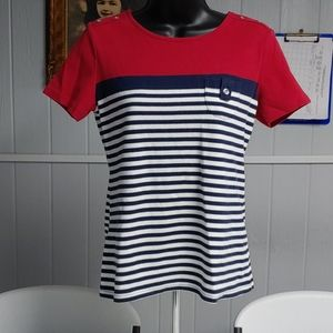 Karen Scott Short Sleeve Shirt
